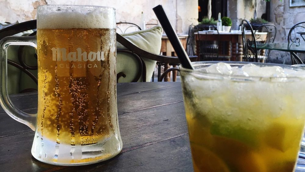 Drink Drinking Glass Mojito! Beer