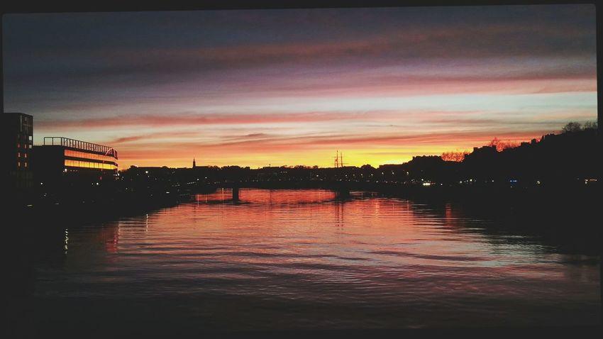 Sundown Light And Shadow Photography Colors