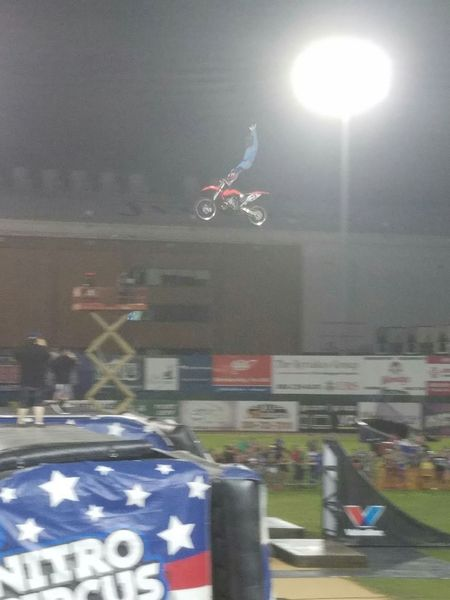 City Life Dirt Bike Fmxrider Nitrocircuslive Action Shot  Road