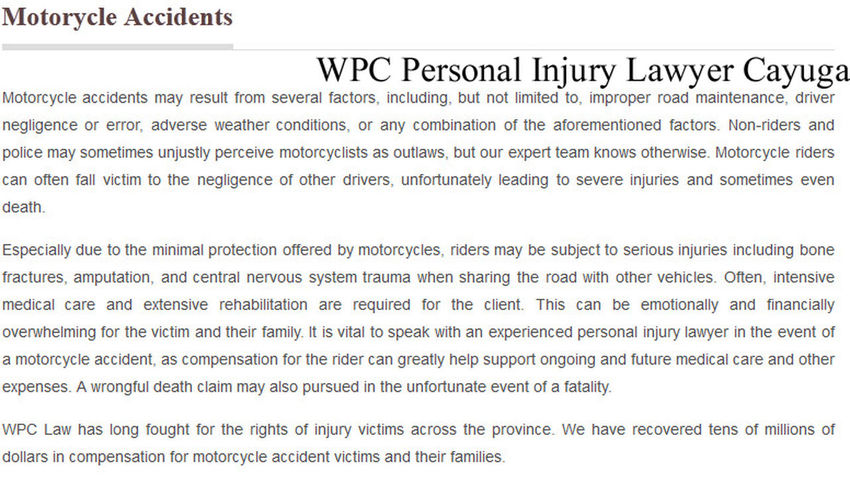 WPC Personal Injury Lawyer, 13 Cayuga Street North, Cayuga, ON N0A 1E0, (800) 964-1839, http://www.wpclaw.ca/Cayuga.html Cayuga Injury Lawyer Cayuga Personal Injury Lawyer Injury Lawyer Cayuga Injury Lawyer Cayuga ON Personal Injury Lawyer Cayuga Personal Injury Lawyer Cayuga ON First Eyeem Photo