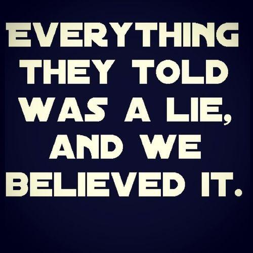 The only truth. Silence Random Gibberish Peace