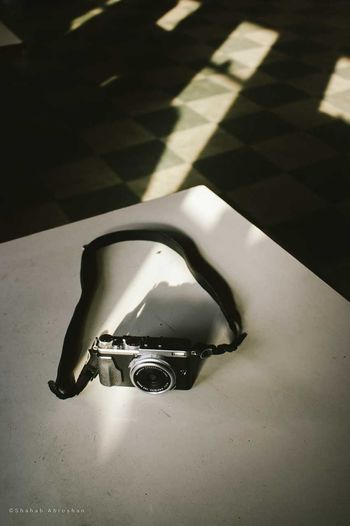 Friendship Camera - Photographic Equipment Close-up Day Indoors  No People Shadow Single Object Sunlight Table