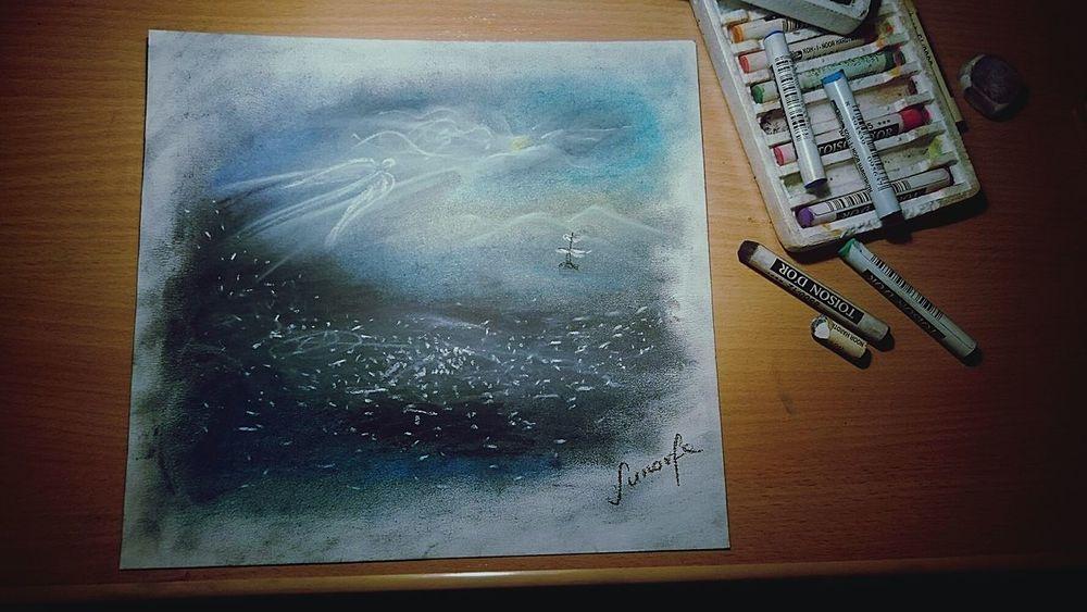 Drawing Art Bigblue ArtWork Art, Drawing, Creativity
