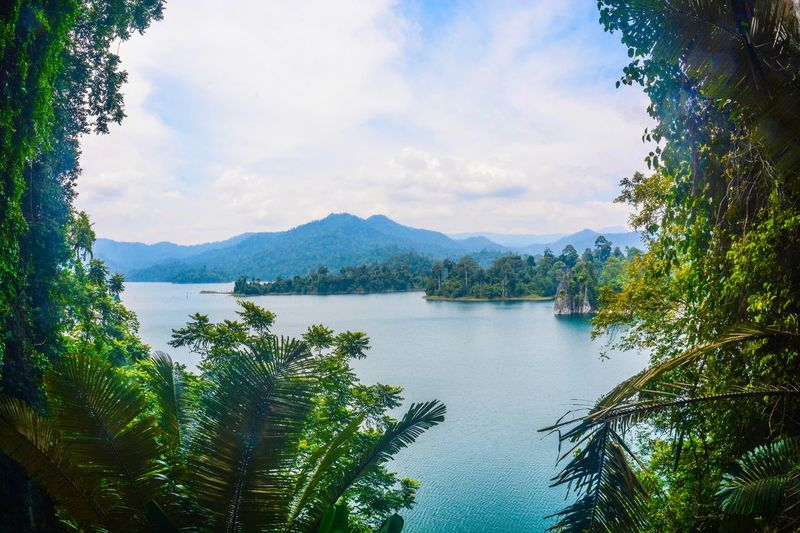 what a great view from Bewah Cave, Kenyir Nature Beauty In Nature Mountain Lake Lake View Scenics Mountain Range Tranquil Scene Tranquility Outdoors Cave Kenyir Terengganu