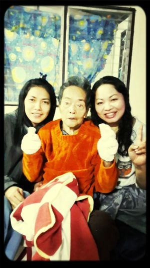 my Grandmother..siter and me. Taking Photos That's Me Family Time
