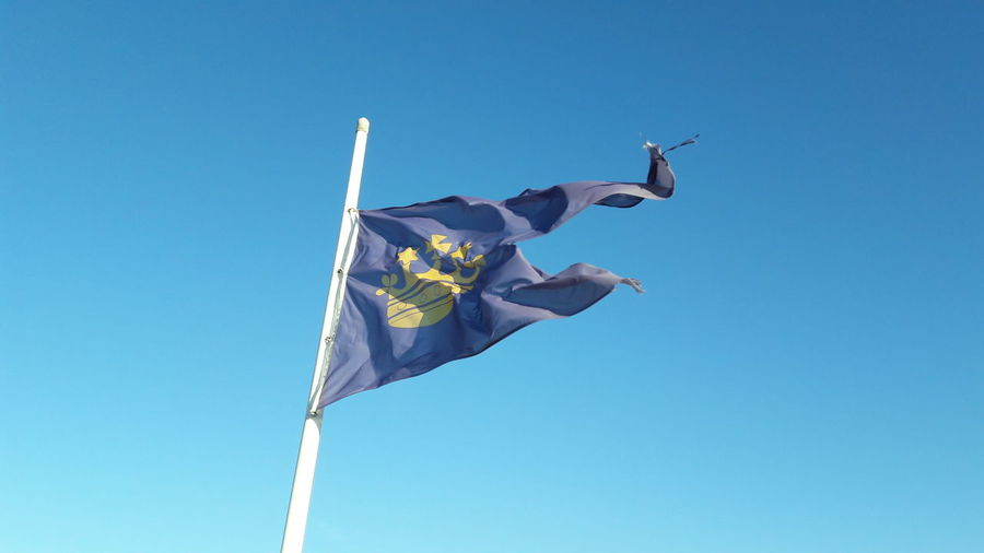 Blue Happiness Flying Sky Motion Flags In The Wind  Flag flag in the wind Blue Flag Flag Ob Castle