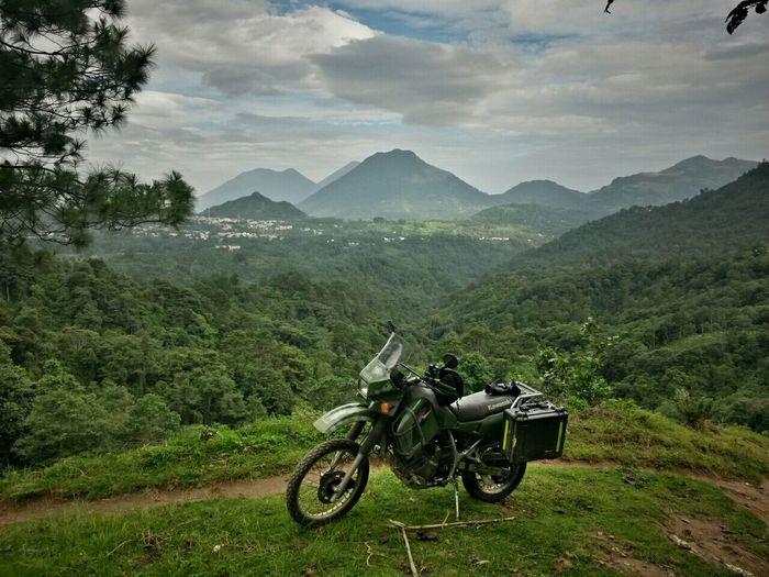 Exploring Motorcycle Guatemala Lake Atitlán