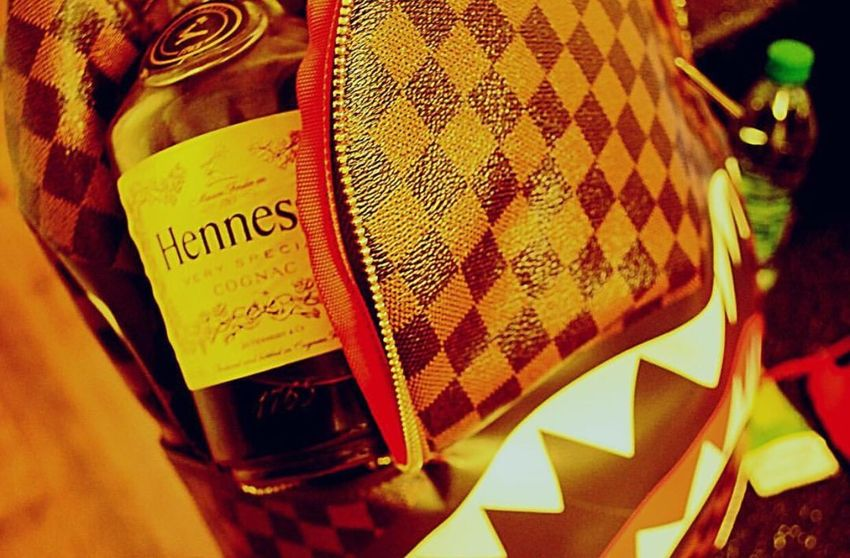 hennything is possible Indoors  Hennessey Luis Vuitton No People