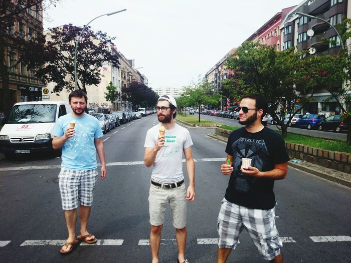 My Handsome Boys Eating Ice Cream