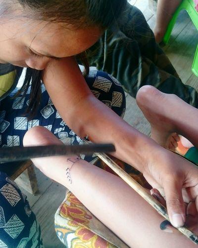 Whangod Tradional TattooKalinga Philippines Koling Serpent Eagle Tatto