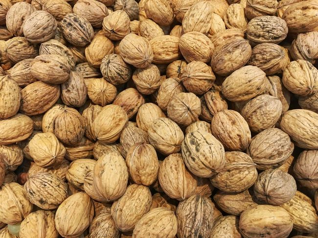 Nuts Abundance Backgrounds Brown Close-up Day Dried Food Dried Fruit Food Food And Drink Freshness Full Frame Healthy Eating Indoors  Large Group Of Objects No People Nut Nut - Food Nutshell Still Life Variation Walnut Walnuts