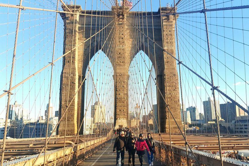 Brooklyn Bridge  New York City New York ❤ I Love New York