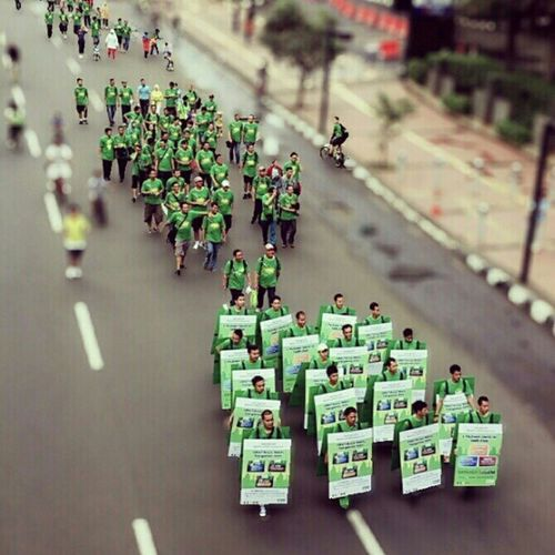 March of the Green force. Esiagoestofun Esiagoestomarket Carfreeday