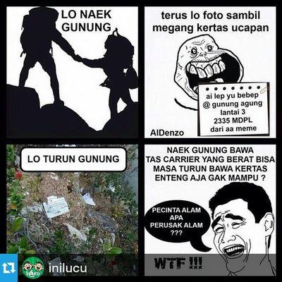 Repost @inilucu ・・・ Nah lhoooo