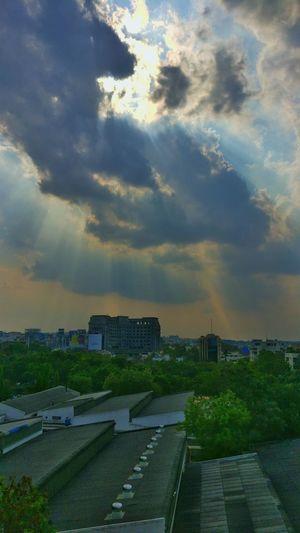 God rays 😍 Sky