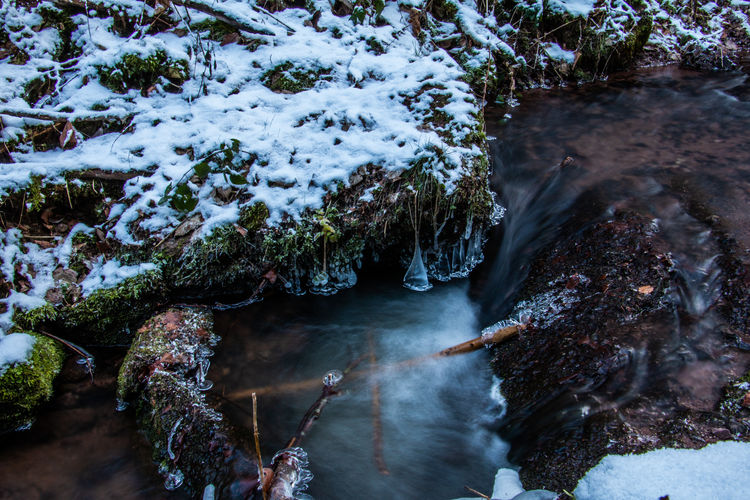 Drachenschlucht Winter Cold Temperature Ice Iced Cold Water No People Scenics - Nature Beauty In Nature Nature Snow Schlucht Drachenschlucht Eisenach Thuringia Thuringen
