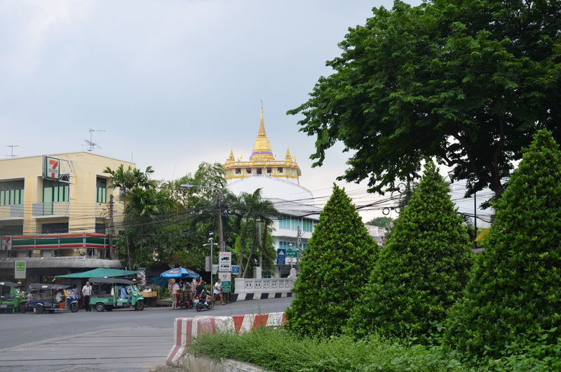 Golden Pagoda Architecture City Cityscape Day No People Outdoors Sky Travel Destinations Tree
