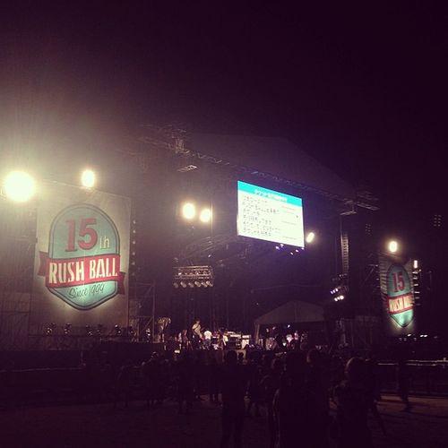 ラッシュボール一日目終了! DAくっそよかった! #rushball Rushball