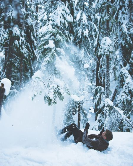 Winter Snow Tree Cold Temperature Nature Adults Only One Person Outdoors Day Full Length Only Men People Men Snowboarding One Man Only Vacations Beauty In Nature Adult Warm Clothing Snowing