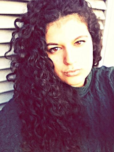 ?? Portrait Beauty Selfportrait Faces Of EyeEm Today's Hot Look Eyes Curly Hair! Hello World Followme Girl