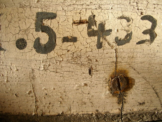 Textures And Surfaces Close-up Day Graffiti Art Graft No People Numbers Outdoors Rustic_wonders Spray Painted Weathered