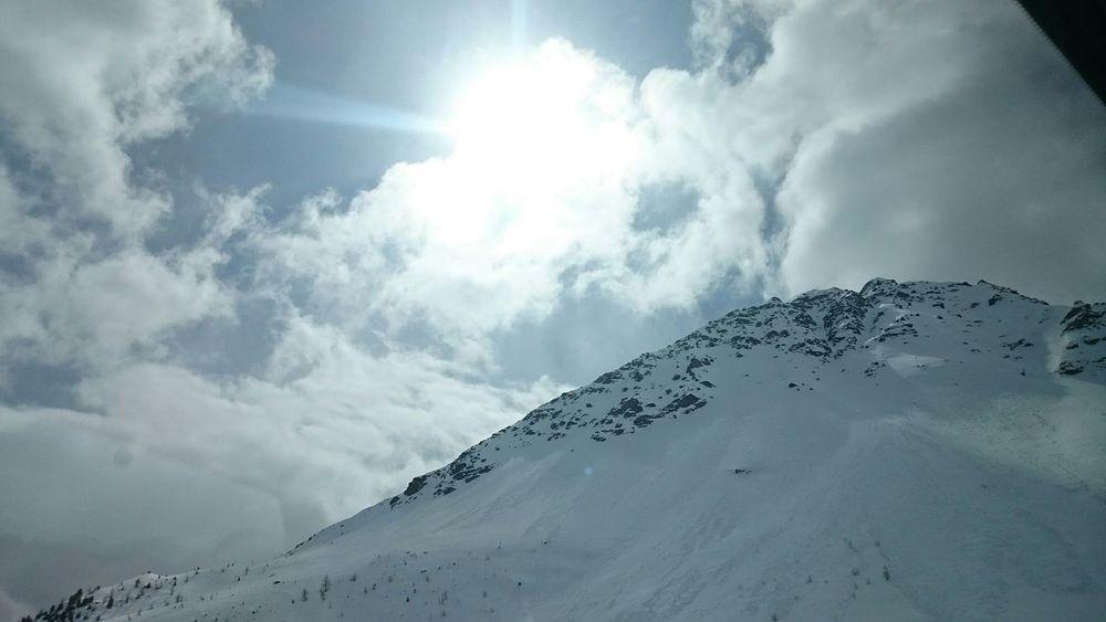 The Purist (no Edit, No Filter) Snow ❄ Sun Mountains Valtellina