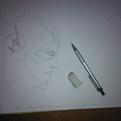 Been ages since I did this.... But happy to get hands on it again! Sketch Sketching Art ArtWork Drawing Theflash Moretocome