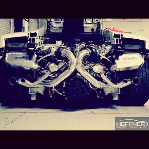 Twin turbo Lambo from Heffner performance.. Lambo Turbo Heffner Speed cars