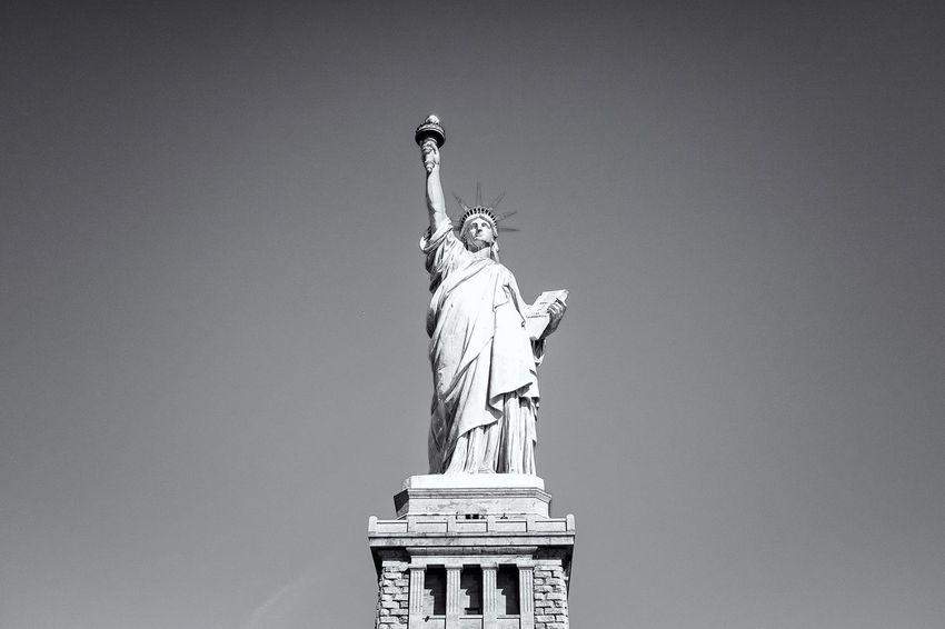New York Statue Of Liberty Fujifilm FujiX100T Fujifilm_xseries Fuji Travel Photography Travel Noir Et Blanc Blackandwhite Streetphotography EyeemTeam