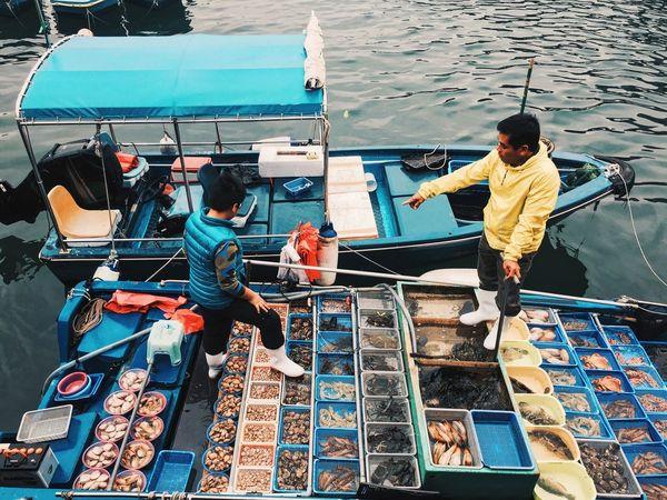 Sea Seaside Sea Life Seaview  Seafoods Seashells Vendor Street Vendor Saikung HongKong Life Struggle For Life Water Water Reflections Showcase: February EyeEm EyeEm Gallery