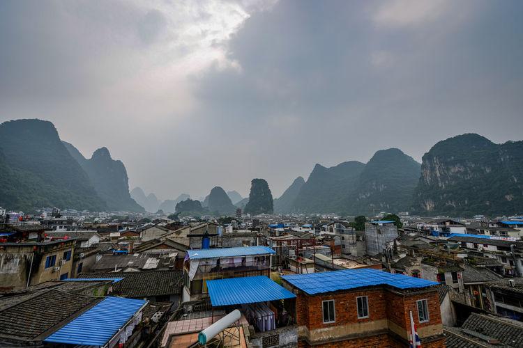 Yangshuo cityscape