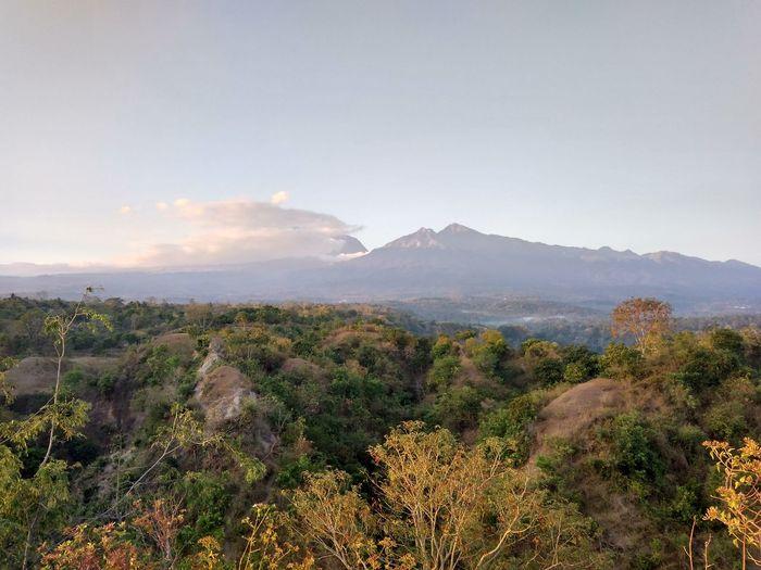 Rinjani mountain Landscape Nature Mountain Outdoors Beauty In Nature No People Lombok Island NTB DELTA API