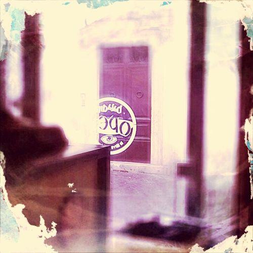 A Door beyond the Glass Door - Un Portone oltre la Porta A Vetri @OpenBaladinRoma