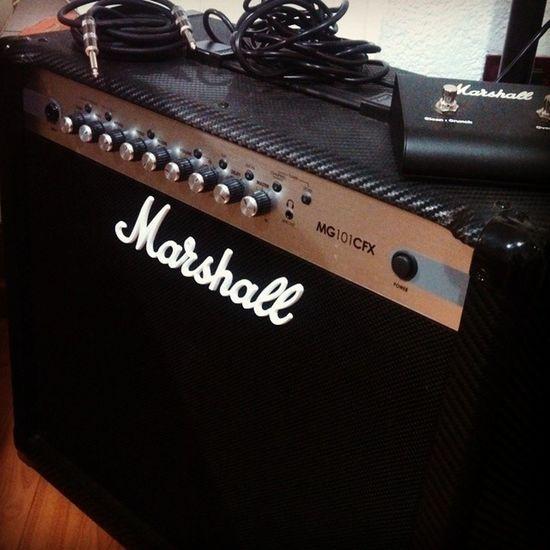 Marshall Ampli Rock a Rockear 100wtts