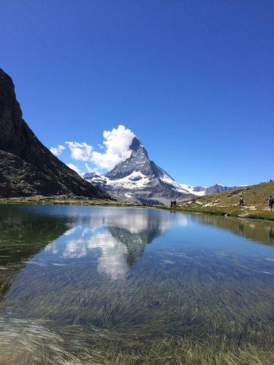 Mountain Water Nature Matterhorn  First Eyeem Photo Nolensflare Noedit