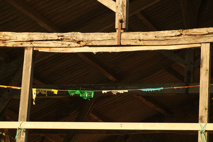 Barn Structure Bunting Flags Prayer Flags