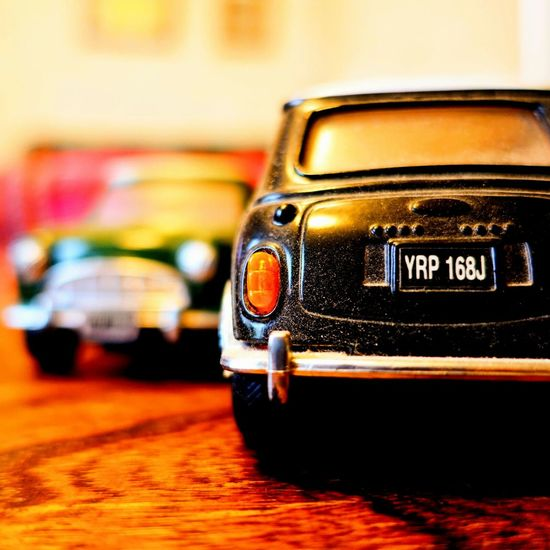 Rover MINI on the table. Close-up Old-fashioned Indoors  No People Focus On Foreground Miniture Photogrpahy