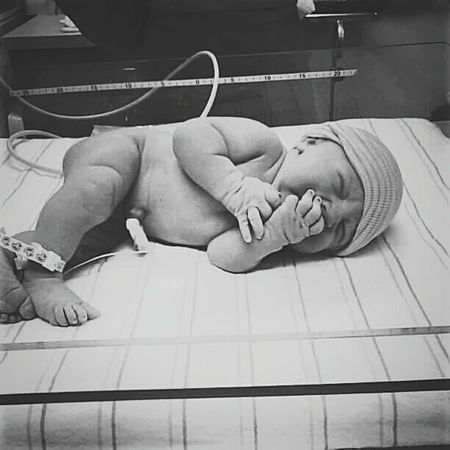 Baby Human Representation Hospital First Day Of Life Addison Newborn