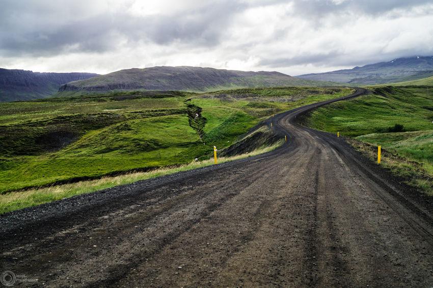 Icelandic roads Hello World