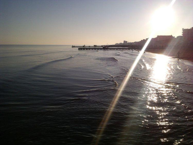 Jesolo Sunset Beach Italy