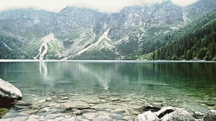 Polish Mountains Morskieoko Beutiful Place  Adventuretime Zakopane Tatry Poland
