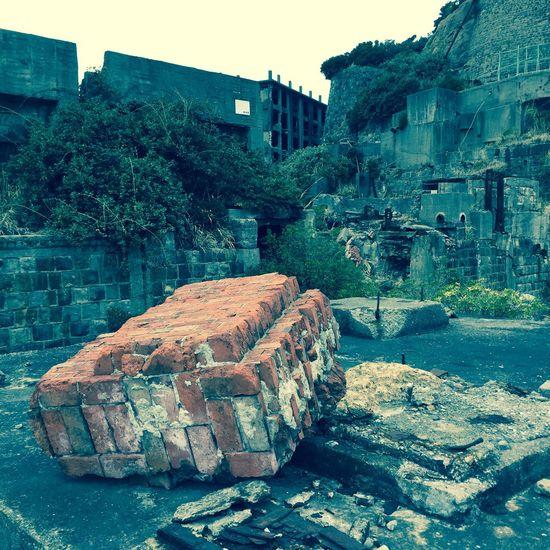 軍艦島(gunkan-jima) Ruins