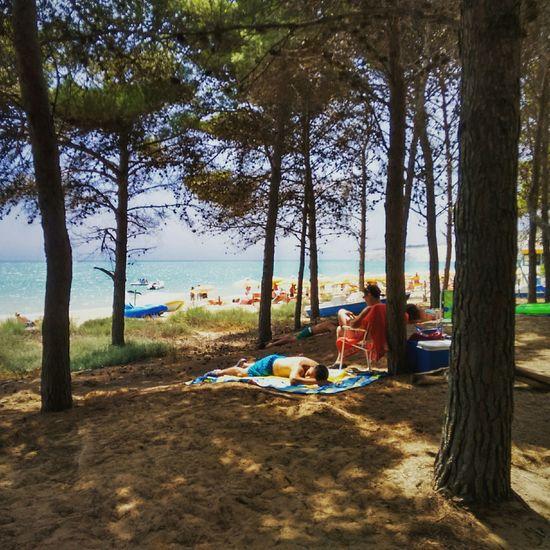 Eraclea Minoa Beach Sicily Italy People Streetphotography