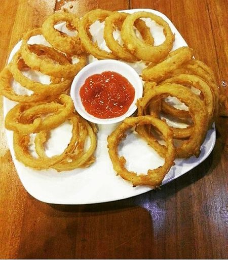 and should be eaten. yup, i'm ready.... 👏👏👏 LOL 👻👻👻👻 Seefood Or Onion_rings Likeforlike