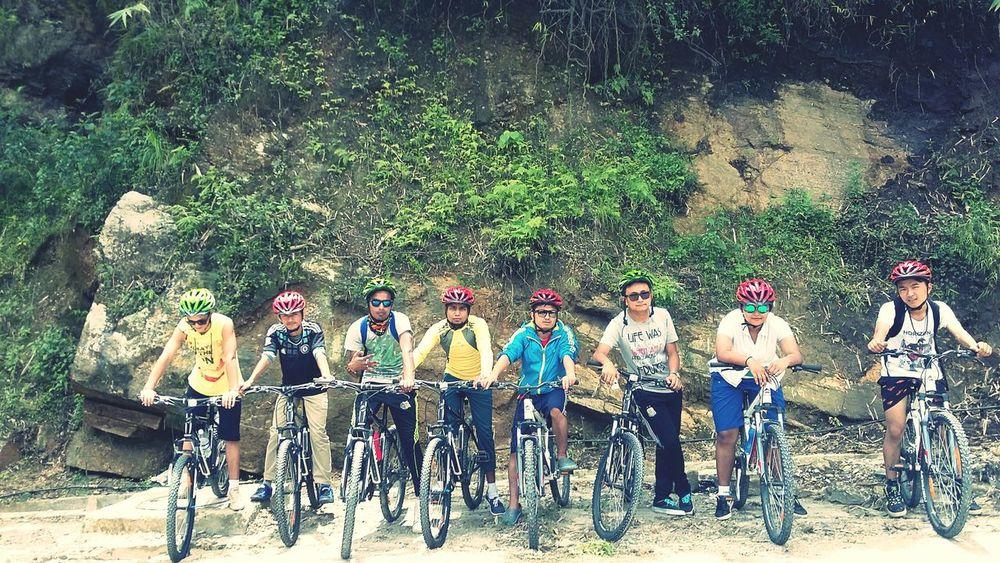 near Ranka banjhakri water falls On Your Bike Relaxing Nepalese Nepalipeople😊 Enjoying Life Taking Photos Friends ❤ Besties Bestfriends <3 EyeEmNewHere