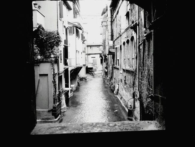 Finestrella sul canale delle Moline ViaPiella Bologna, Italy Lapiccolavenezia Smallvenice Fiumereno Reno Blackandwhite Black&white Blackandwhite Photography Bestoftheday