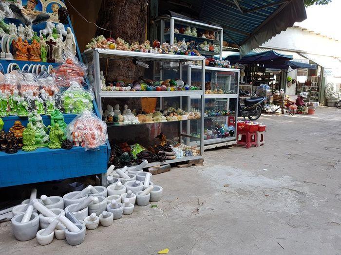 Vietnam Vietnam 2016 Marble Mountain Da Nang Da Nang, Vietnam Market Vietnamese Market Marble