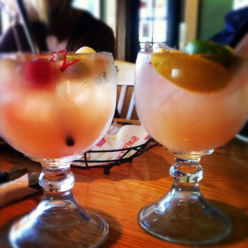 Drinks with mommy :) Sangria PeachSangria WhitePeachSangria