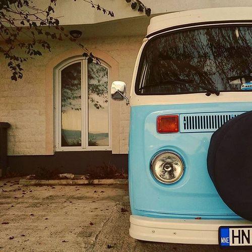 Make them Colors pop! Classiccar Classicvw Vintagecar Westfalia Vwt2 Blue Camping XPERIA Grammasters3 Jj