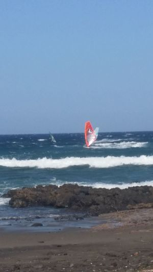 Holiday Tenerife España Holidays Tenerife Summer Sportsman Sport Wind Windsurfing Seasports